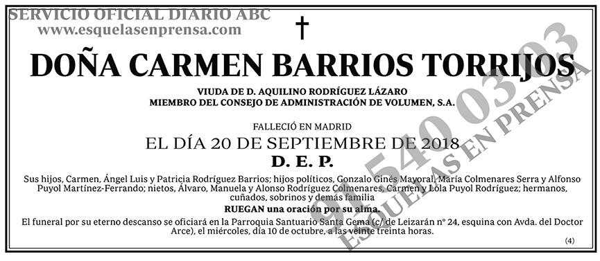 Carmen Barrios Torrijos